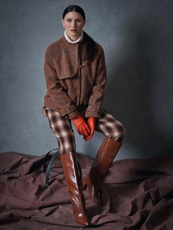 Модель жакета-куртки