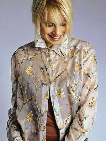 Блузка-пальто