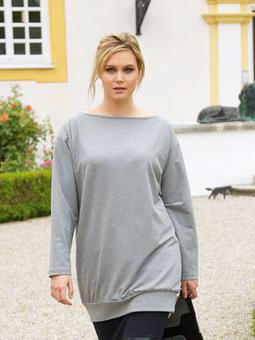 Пуловер прямого кроя