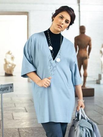Блуза-казак