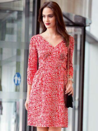 Платье с рукавами 3\4