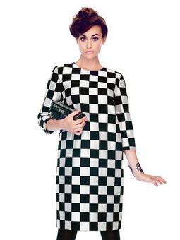 Платье с рукавами ¾