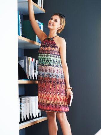 Платье-сарафан А-силуэта