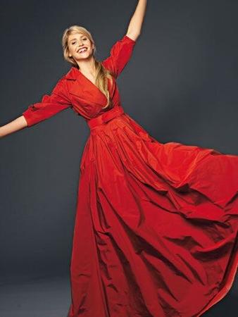 Платье из тафты