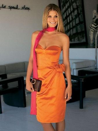 Платье на корсажной основе