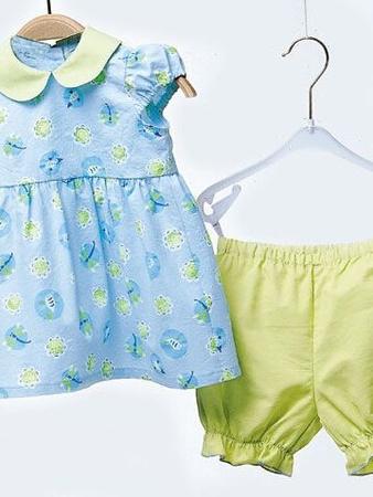 Платье и штанишки