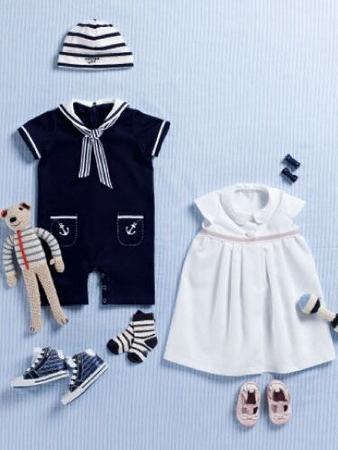 Платье с круглым воротничком для девочки