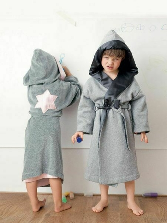 Купальный халат для мальчика