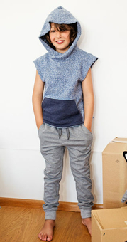 Анорак без рукавов для мальчика