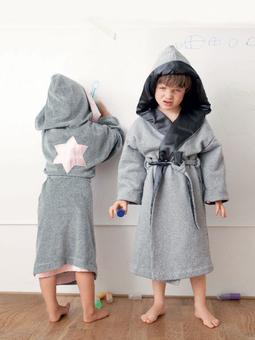 Купальный халат для девочки