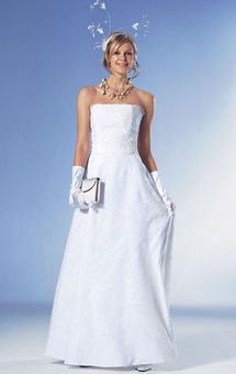 Свадебный наряд: платье и нижняя юбка
