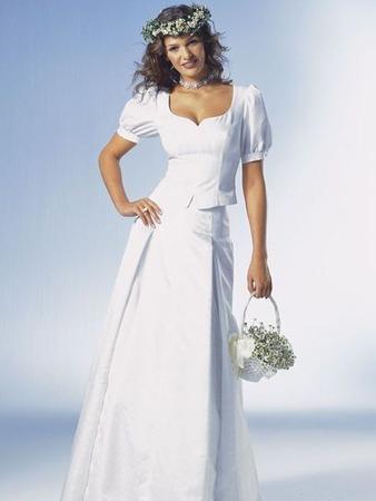 Свадебный наряд в стиле фолк: блузка