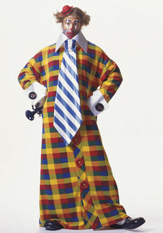 Маскарадный костюм «Большой клоун»