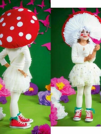Мухомор: шляпа и юбка