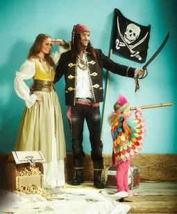 Пират: куртка, платок, шарф