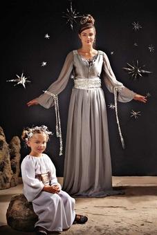 Принцесса: платье и ремень