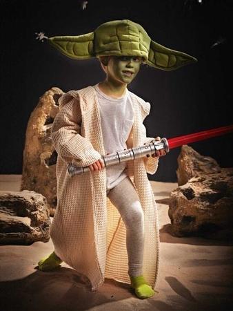 Магистр Йода: пальто и шапка