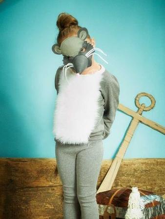 Мышка: пуловер и маска
