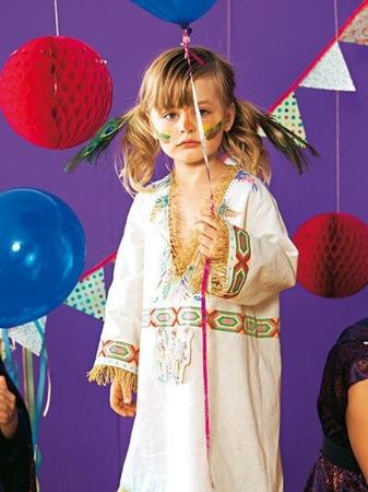 Платье (костюм индианки)