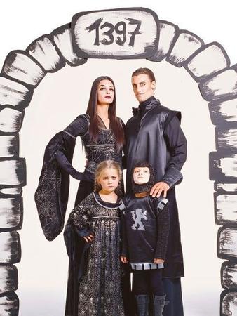 Карнавальный костюм «Черный рыцарь»
