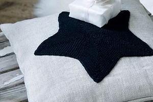 Подушка со звездой