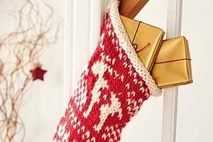 Чулок для рождественских подарков