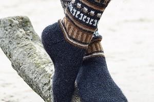 Носки с этническими узорами