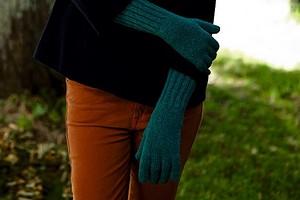 Перчатки с широкой резинкой