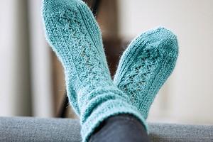 Голубые носки