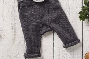 Серые штанишки для малыша