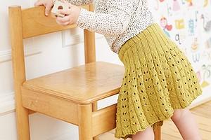 Детская юбочка с трусиками
