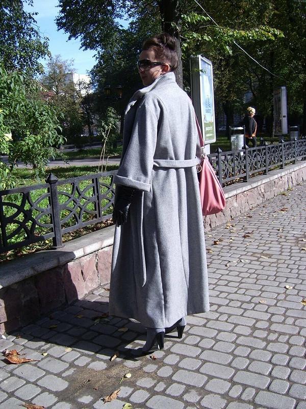 Пальто осеннее. от Vic D