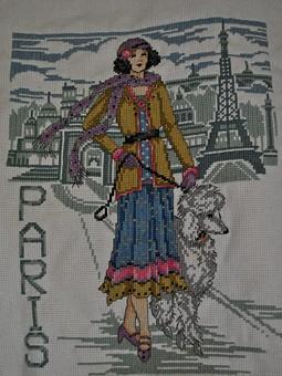 Работа с названием Парижанка