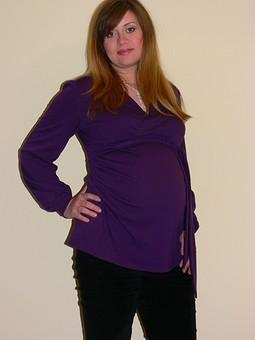 Работа с названием Блузка для беременных