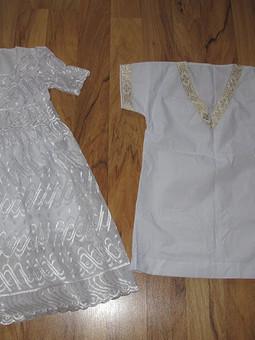 Работа с названием крестильная рубашка