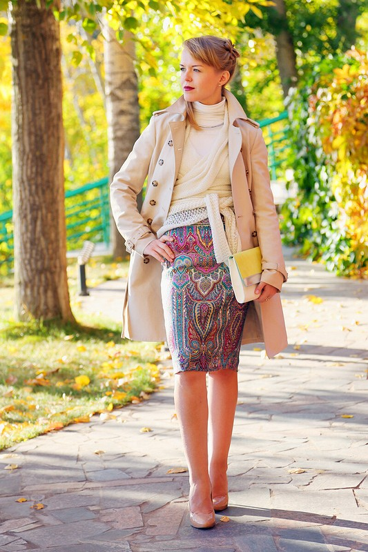 Павлопосадская юбка