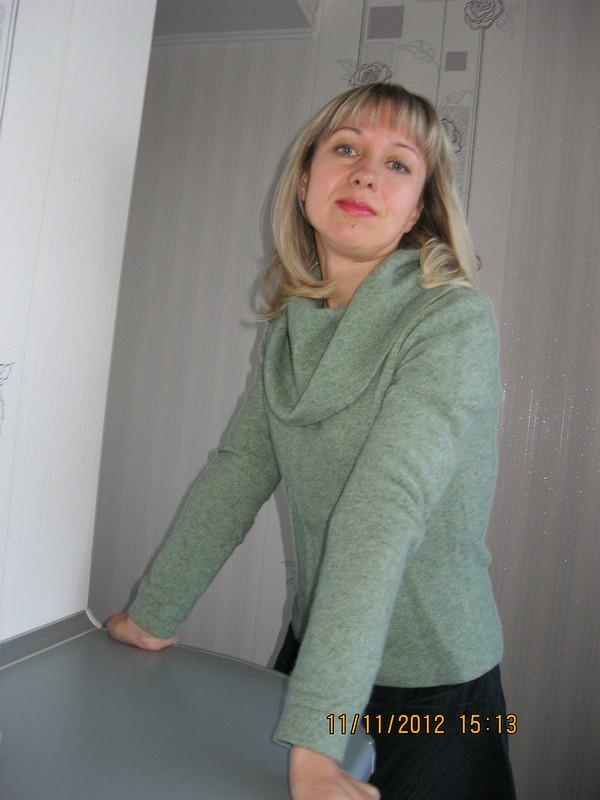 Блуза схомутом