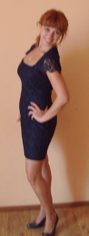 Платье, кружево