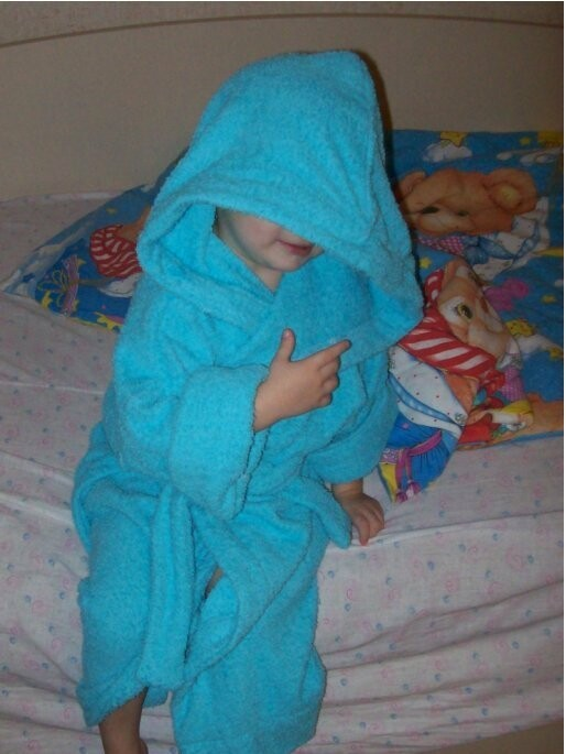 Детский халат от Сентябрина
