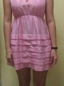 Работа с названием легкое летнее платье