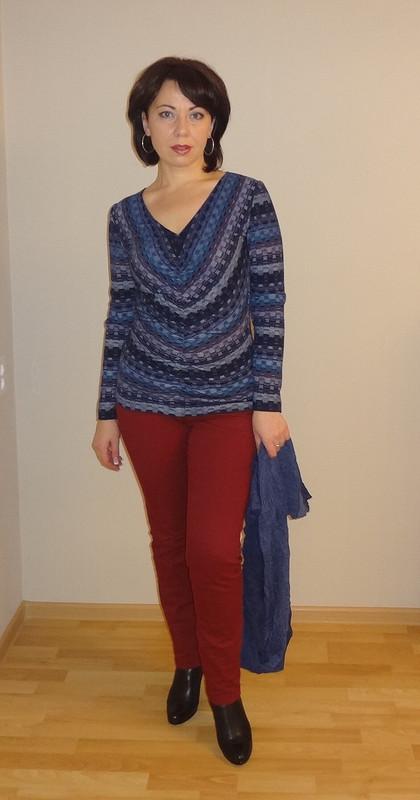 Пуловер 10/2012_114 А