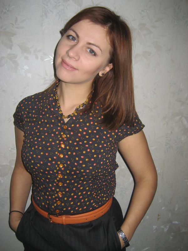 блузка сбуфами