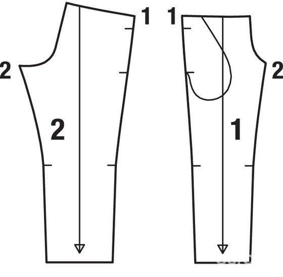 Как сшить трикотажные брюки