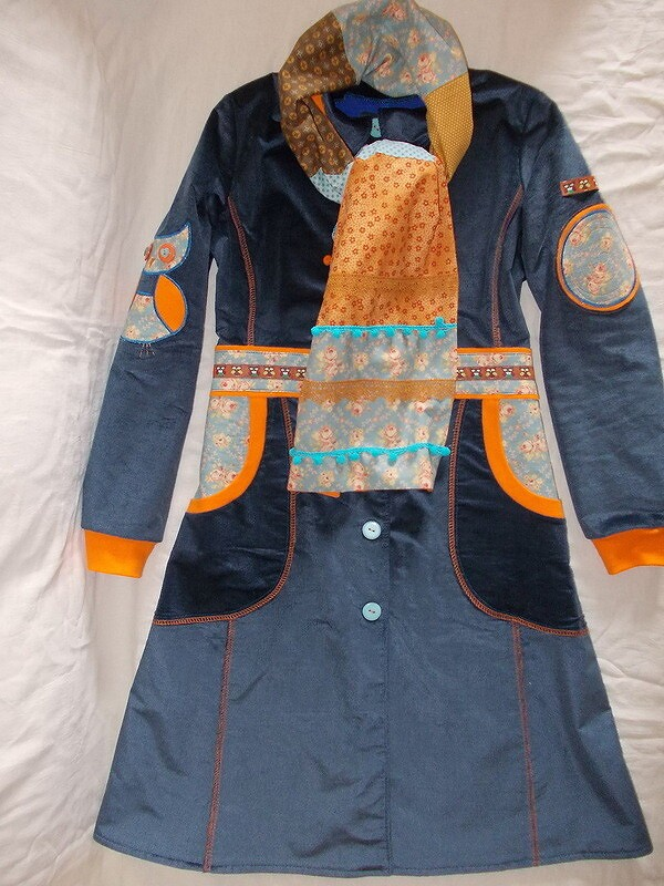 Вельветовое пальто от alenushka-v