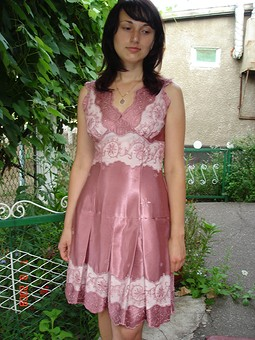 Работа с названием платье для сестрички
