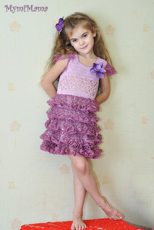 «Быстрое» платье своланами!