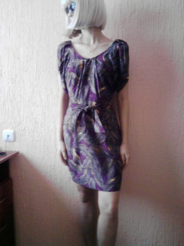 Платье сбольшими рукавами