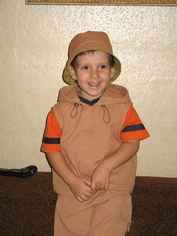Работа с названием Детский костюм