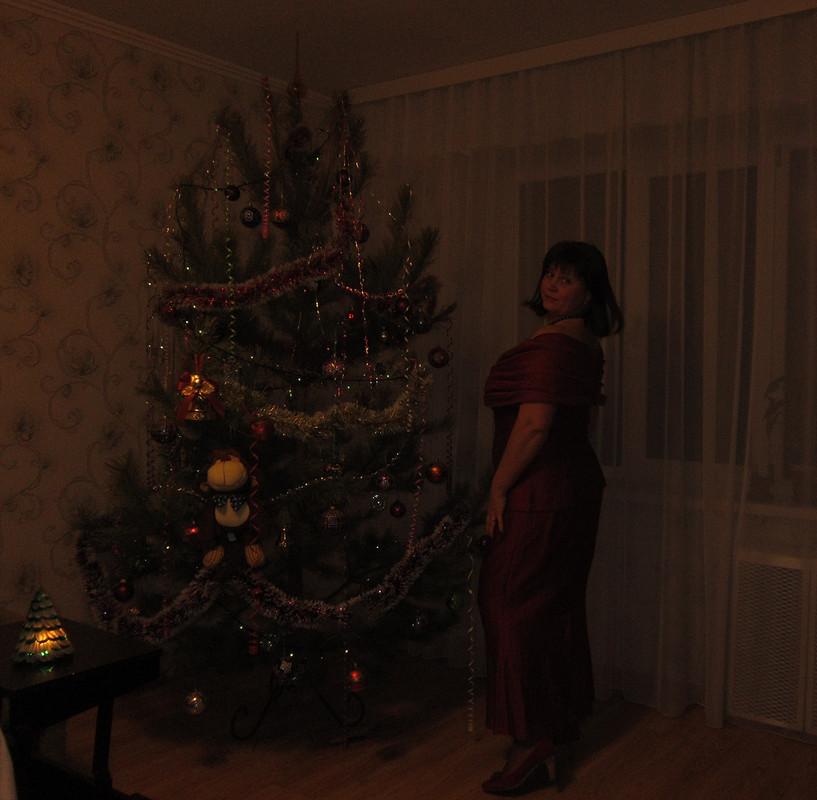 Новогодний гранатовый костюм Юбка