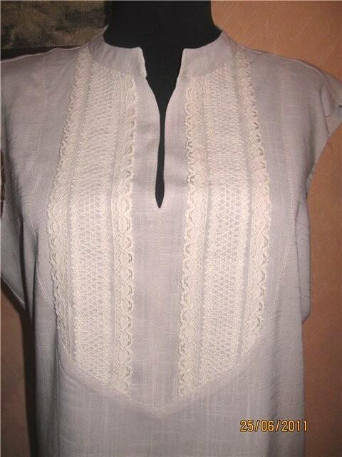 блуза спластроном